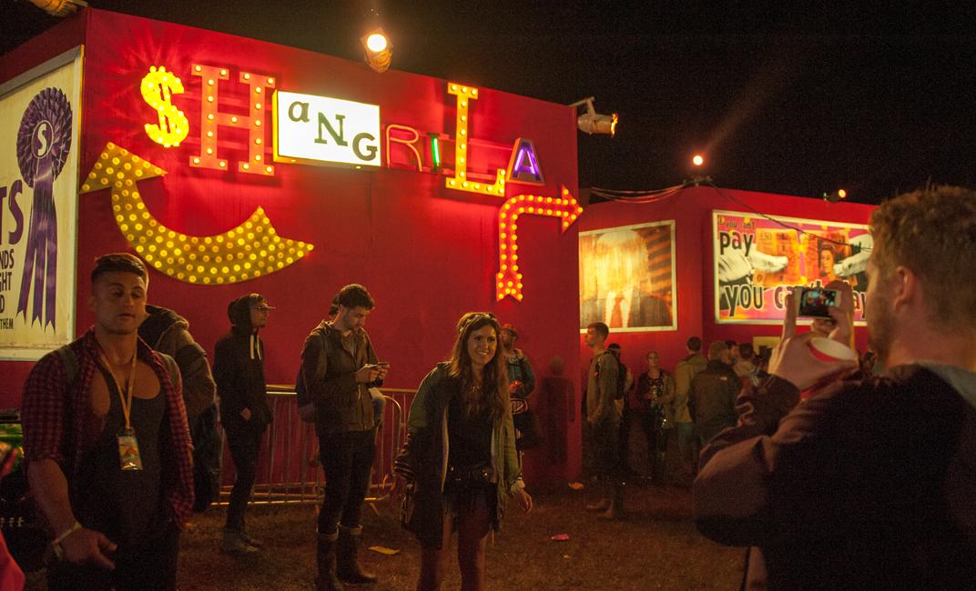 Shangri-La in full swing – Image: Simon Westgate
