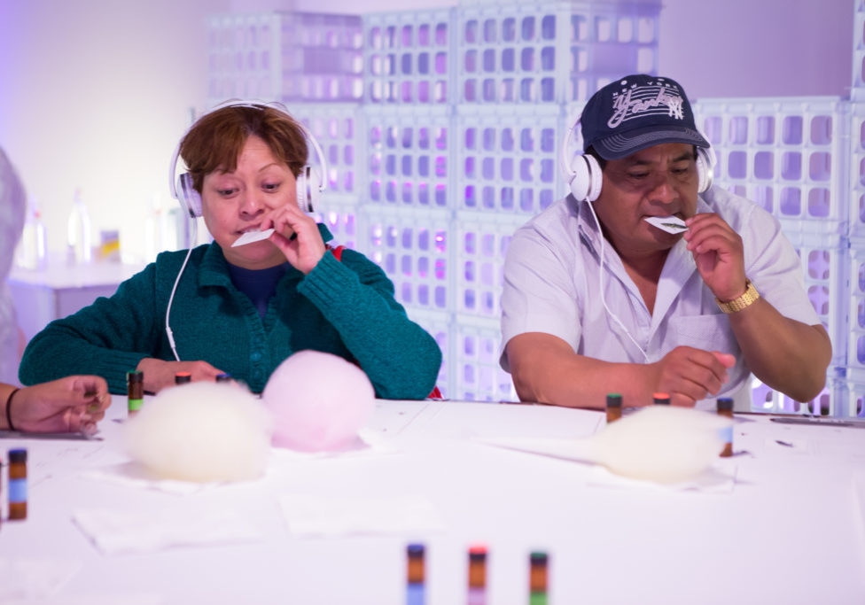At Dr Sugar's Sense Machine, guests took a multisensory audio-tour through our sweet perceptions.